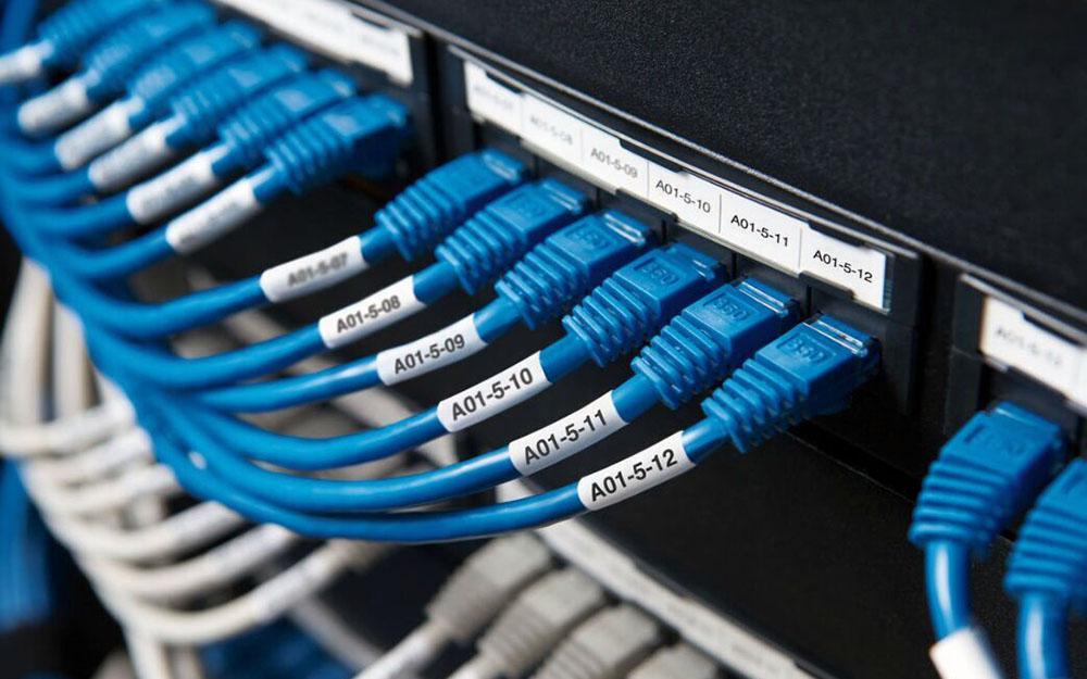テプラ互換熱収縮チューブ・ケーブル表示用テープカートリッジ